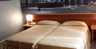 Chambre basique ele green park hotel pamphili rome, italie