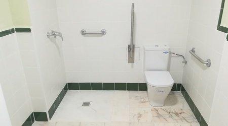 Salle de bains handicapés hôtel ele andaratx aguadulce