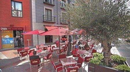 Bar & terrasse ele enara boutique hôtel valladolid