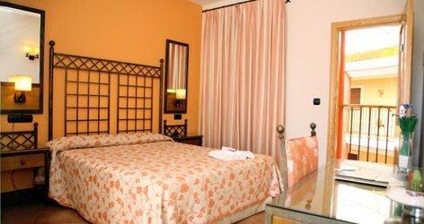 Chambre double avec terrasse hôtel ele santa bárbara sevilla séville