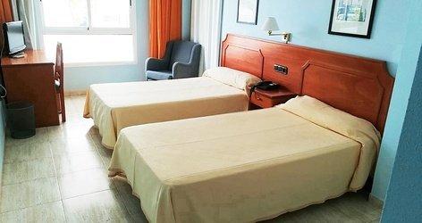 Double 1 ou 2 lits hotel ele don ignacio san josé, almería