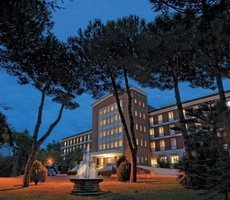 ele green park hotel pamphili rome, italie