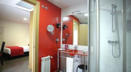 Salle de bains chambre simple ele enara boutique hôtel valladolid
