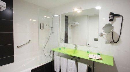 Salle de bains chambre de famille ele enara boutique hôtel valladolid