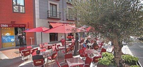 Terrasse enara ele enara boutique hôtel valladolid