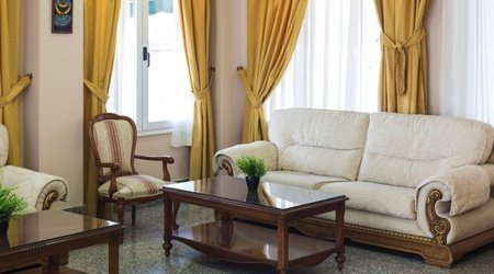 Salle de séjour   Complejo ATH Real de Castilla
