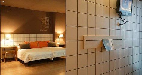 CHAMBRES DOUBLES AVEC 2 LITS SUPPLÉMENTAIRES ELE Hotel Hotelandgo Arasur
