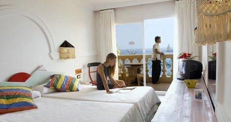 CHAMBRE DOUBLE AVEC VUE SUR LA MER Hôtel ATH Portomagno