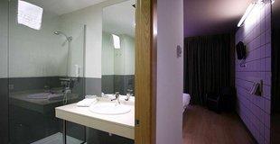 Chambres  doubles avec lit suplÉmentaire ele hotel hotelandgo arasur rivabellosa