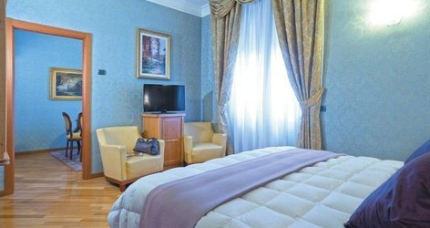 Suite ele green park hotel pamphili rome, italie