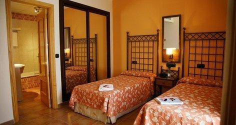Chambre double hôtel ele santa bárbara sevilla séville