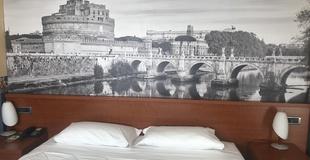 Chambres standard ele green park hotel pamphili rome, italie