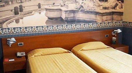 Chambre standard ele green park hotel pamphili rome, italie
