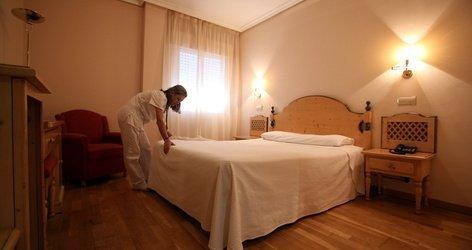 CHAMBRE DOUBLE (3 ADULTES) Hôtel ATH Cañada Real Plasencia